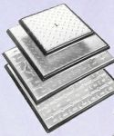 ClarkDrain 600 x 450 x 5Tonne GPW Double sealed Galvanised Steel Solid Top manhole Cover PC6BG3 * Free Delivery *